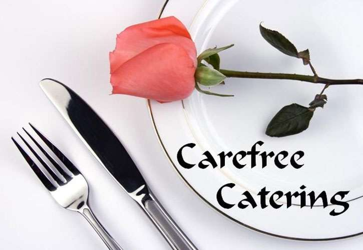 carefree catering wedding caterer