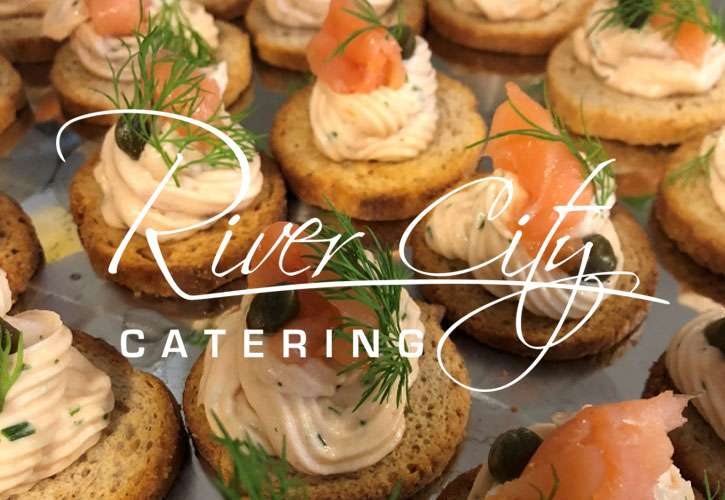 river city wedding catering