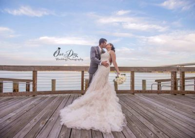 Bride & Groom - Waterfront Wedding