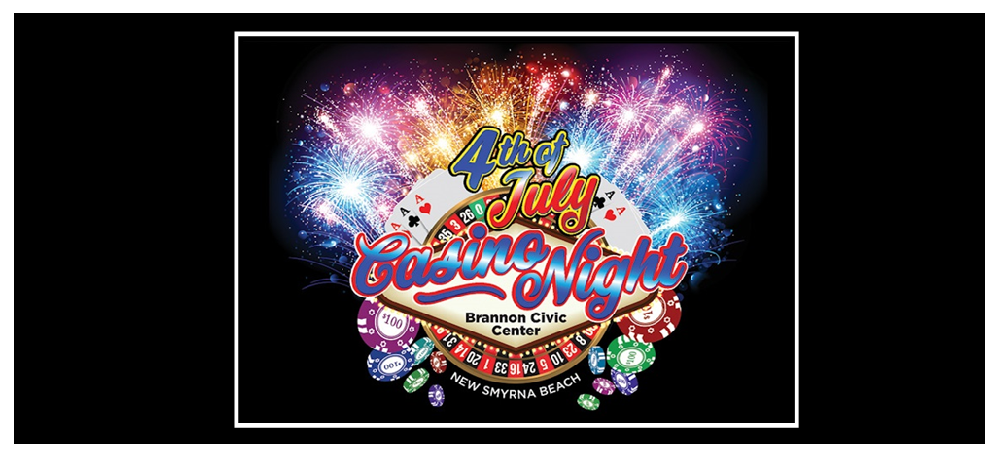JULY 4th - CASINO NIGHT AND FIREWORKS - Brannon Center